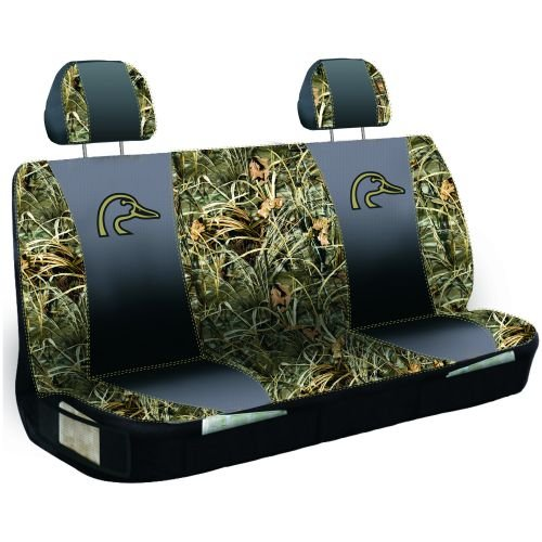 Ducks Unlimited Camo Max 4 Car Truck Suv Universal Fit Rear Bench Seat Cover With Head Rest Covers Victosepinasdwass