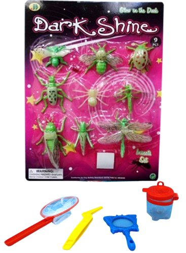Stocking Stuffer Christmas Gift Ideas Toys For Boys & Girls: Best Glow In The Dark Insect Set And Junior Insect Catcher Set Makes The Hot Gifts Ideas For Boys Kids And Teen Insect Lovers. Guaranteed To Please. (Insect Set) front-690477