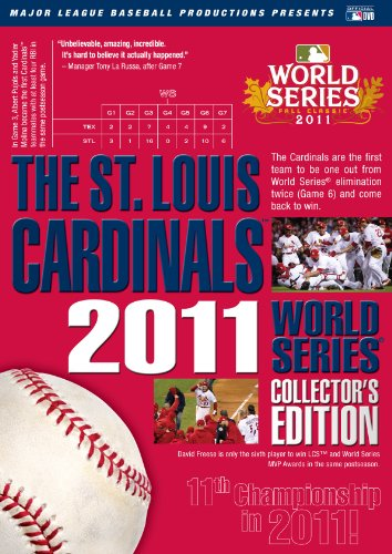 St. Louis Cardinals: 2011 World Series Collectors Edition at Amazon.com