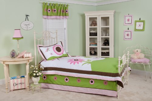 Pam Grace Creations Twin Bedding Set, Sophia's Garden