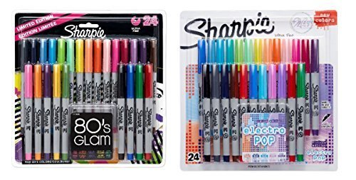 sharpie-ultra-fine-point-permanent-markers-80s-glam-and-electro-pop-colors-48-markers-in-total