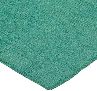 "Impact LFKS300 Microfiber All-Purpose Cloth, 12"" Length x 12"" Width, Green (20 Bags of 12)"