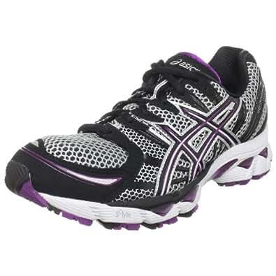 ASICS Women's GEL-Nimbus 12 Running Shoe,Lightning/Black/Plum,11.5 M US