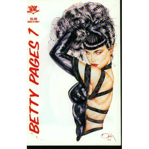 The Betty Pages Annual, #1 Greg Theakston, Betty Page Books