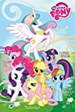 Poster My Little Pony Names with Accessory Item multicoloured