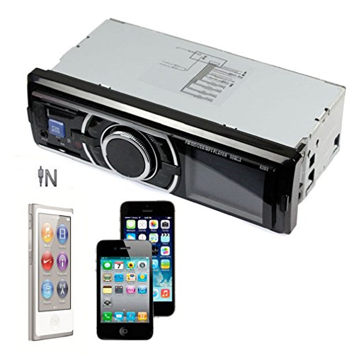 Towallmark(Tm)Car Audio Stereo In Dash Fm Receiver With Phone Mp3/4 Player Sd Usb Input Aux