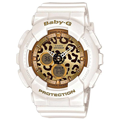 Casio Baby-G Animal Print Graphic Dial Resin Quartz Ladies Watch BA120LP-7A2