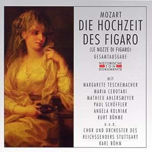 Mozart: Die Hochzeit des Figaro (Gesamtaufnahme) (Aufnahme Stuttgart 1938)