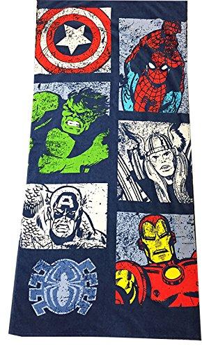 Marvel Avengers Comic 30″ x 60″ Cotton Beach/Bath/Pool Towel