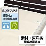 東洋紡 洗える高吸放湿繊維使用 除湿マット セミダブル 110×180cm