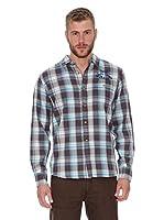 Oxbow Camisa Manga Larga Sondrio (Turquesa)