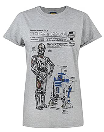 Official Haynes Manual Star Wars C3po And R2d2 Women 39 S