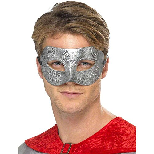 Metallic Warrior Colombina Venetian Mask - 1