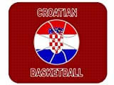 Croatian Basketball Mouse Pad - Croatia