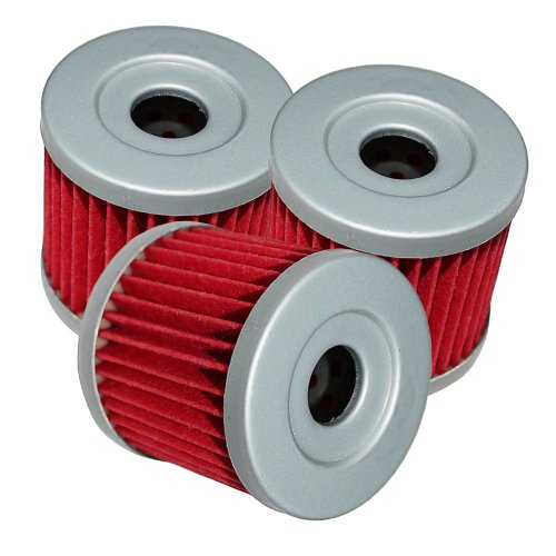 Caltric Oil Filter Fits Fits SUZUKI DR-Z400 DR-Z400E DR-Z400S DR-Z400SM 2000-2009 2011-2012 3-PACK (Z400 Oil Filter compare prices)