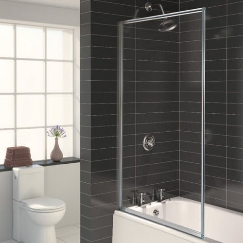 Aqualux fs6265aqu parete per vasca da bagno con cornice 750 mm colore grigi ebay - Parete per vasca da bagno ...