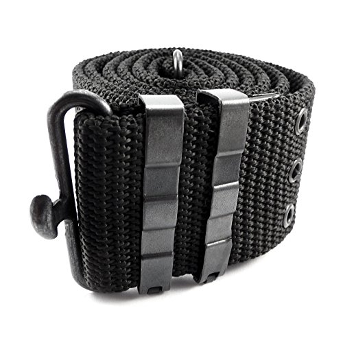 tactical-pistol-belt-alice-system-airsoft-webbing-shooting-black-adjustable-military-metal-buckle-ar