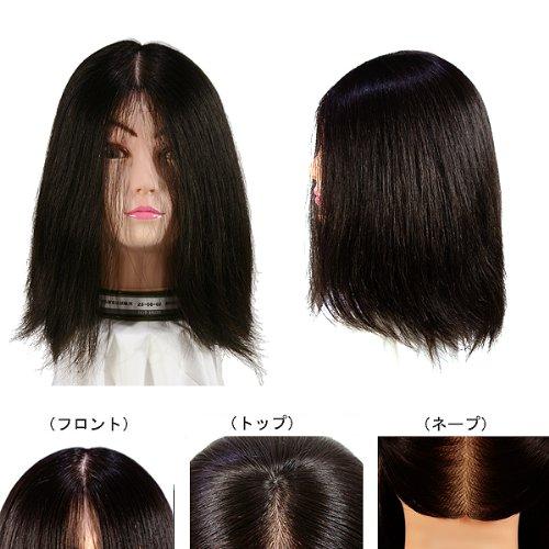 レジーナ 美容師実技試験用ウィッグ レイヤースタイル専用 23ー08ー01