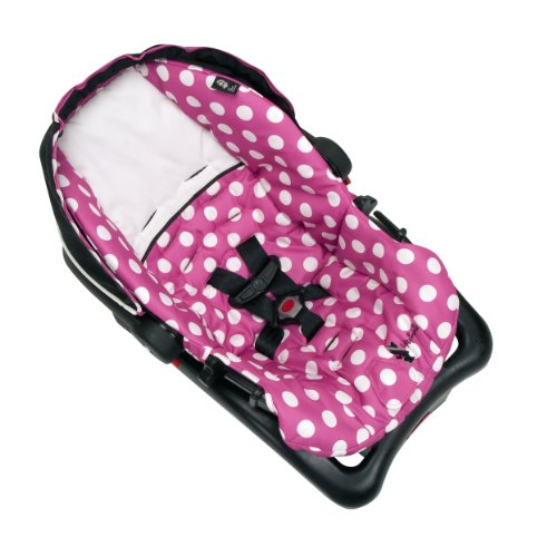 Disney Light 'n Comfy Luxe Infant Car Seat, Minnie Dot