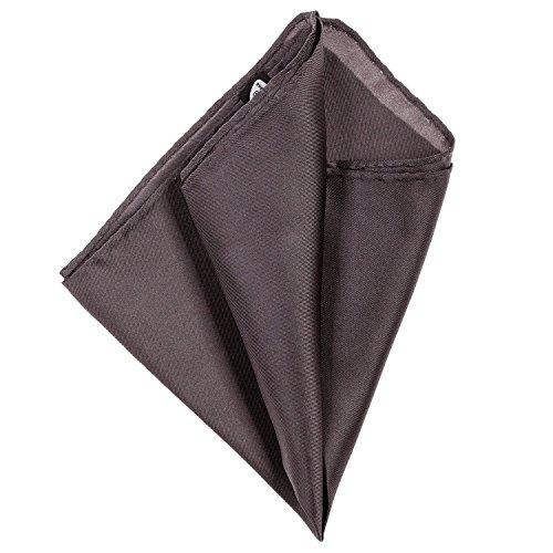 Strellson fazzoletto di seta Pochette antracite