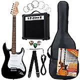 Rocktile Banger's Pack Guitare électrique et accessoires 7 pièces - Noir