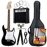 Rocktile Banger's Pack Komplettset E-Gitarre Schwarz...