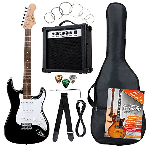 rocktile-bangers-pack-guitare-electrique-et-accessoires-7-pieces-noir
