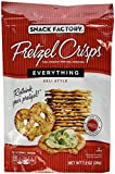 Snack Factory Pretzel Crisps Everything, 7.2-Ounce (Pack of 6)