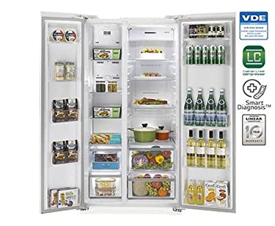 LG GC-B207GPQV Frost-free Double-door Refrigerator (581 Ltrs, 3 Star Rating, Daffodil White)