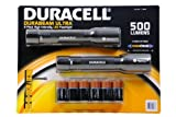 Duracell Durabeam Ultra High Intensity Tactical- 500 Lumen Flashlight 2-Pack with 6 C Batteries