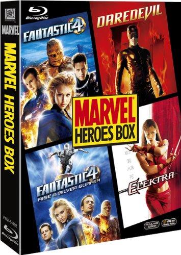 マーベル ヒーロー ブルーレイBOX(初回生産限定) [Blu-ray]