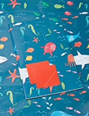 2 Under the Sea Sheet Wrapping Papers