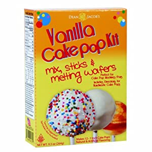Dean Jacob's Cake Pop Kit, Vanilla