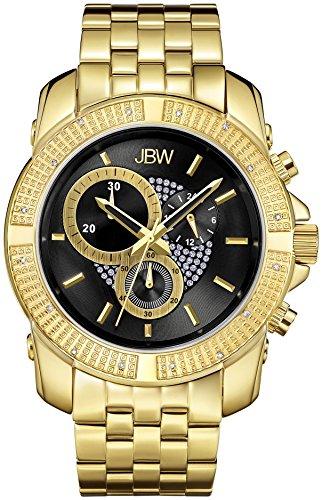 JBW Reloj con movimiento japonés Man Warren Dorado 48 mm