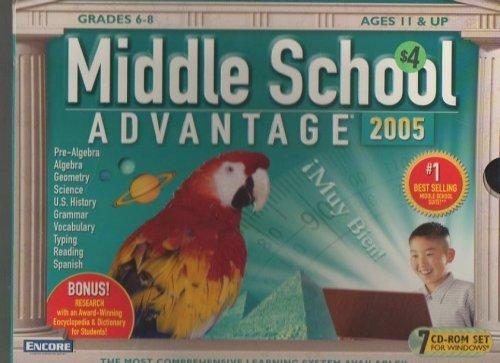 Middle School Advantage 2005 (7 Cd Rom Set)