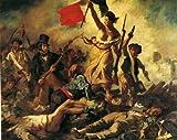 西洋絵画 『民衆を導く自由の女神』 ドラクロワ ルーヴル美術館 [並行輸入品]