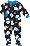 Carter's Snowman Winter Footed Sleeper Pajamas