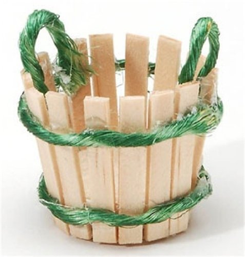 Miniature Slatted Basket