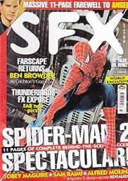 SFX magazine #119, Spider-man 2 Spectacular