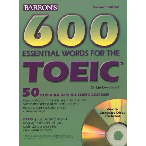 download ebook 600 essential words for the toeic