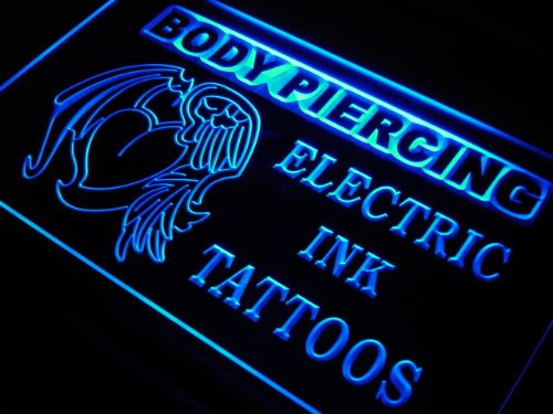 Adv Pro S227-B Body Piercing Electric Ink Tattoo New Light Sign