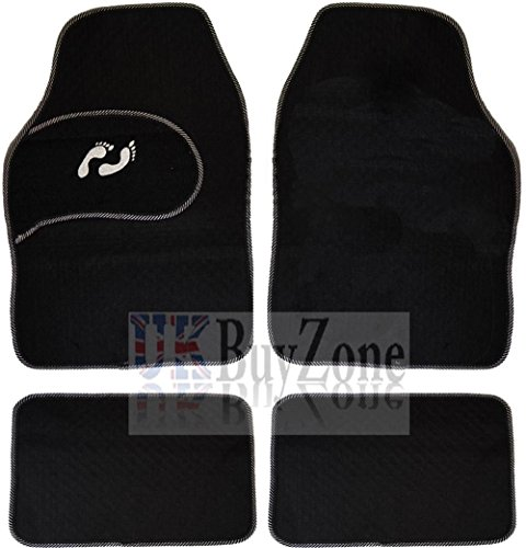 4-piece-front-rear-black-car-mat-carpet-set-non-slip-grip-universal-floor-mats