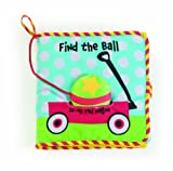 51LpJYS7A9L. SL160  Manhattan baby Soft Activity Book, Find the Ball