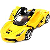 The Flyer's Bay Ferrari Style RC Car With Fully Function Doors(1:16) (Yellow)