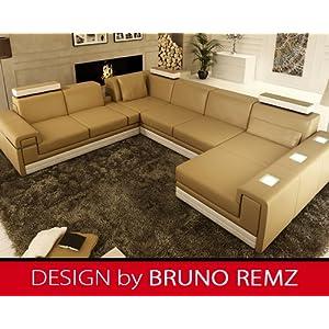g nstig bruno remz amberg leder sofa ledersofa ecksofa. Black Bedroom Furniture Sets. Home Design Ideas
