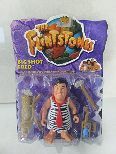 Mattel The Flintstones Big Shot Fred Toy Figure