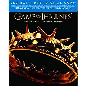 Game of Thrones (Le Trône de Fer) - Saison 2 Combo Blu-ray+dvd+copie digitale