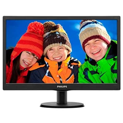 Philips 203V5LSB26/94 19.5-inch Monitor (Black)