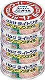 いなば ライトツナスーパーノンオイル 4缶P