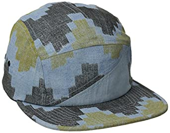 Volcom Men's 56th Fabric 5 Panel Hat, Chambray, One Size